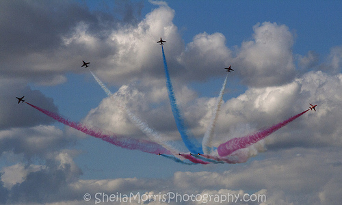 Red Arrows at the RAIT2010